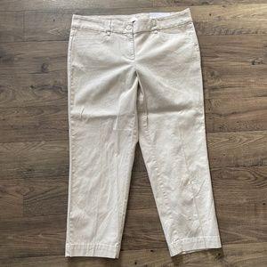 ANN TAYLOR LOFT Outlet Original Crop Pants 8 NWT